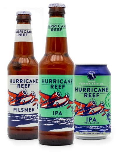 Hurricane Reef - Pilsner & Ipa